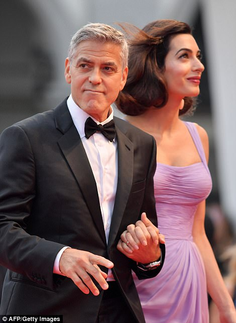 Suburbicon Red Carpet.......... 43D6076800000578-4847038-image-m-237_1504374937561