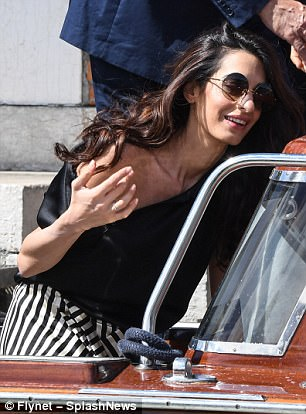 George and Amal enjoy relaxing day out with children 43DDA96300000578-4848526-image-m-352_1504447540841