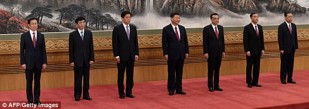 The Serious Side - part 4 - Page 4 45A8C33000000578-5018045-Xi_Jinping_centre_unveils_members_of_his_new_ruling_council_toda-a-50_1508966517443