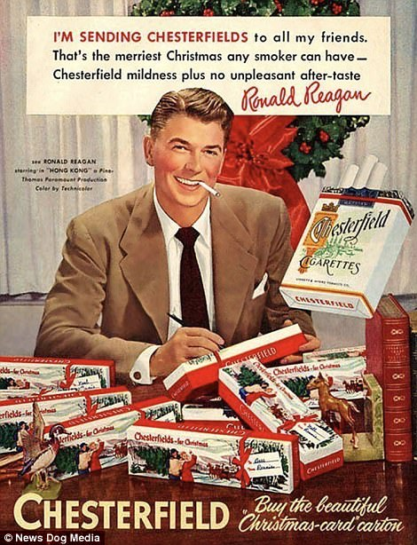 When all women wanted for Christmas was a Hoover, and men were after some Pipe Appeal: Cringeworthy adverts show life in the days before political correctness   47894B0600000578-5208475-image-a-25_1514040917490