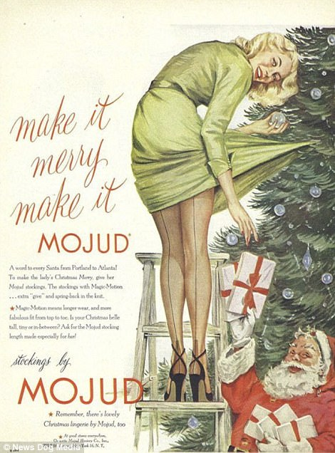 When all women wanted for Christmas was a Hoover, and men were after some Pipe Appeal: Cringeworthy adverts show life in the days before political correctness   47894B6D00000578-5208475-image-m-10_1514040752280