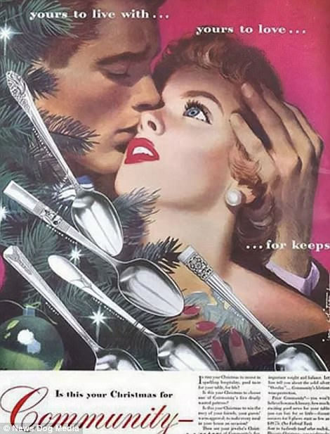 When all women wanted for Christmas was a Hoover, and men were after some Pipe Appeal: Cringeworthy adverts show life in the days before political correctness   47894B5A00000578-5208475-image-a-87_1514044505138