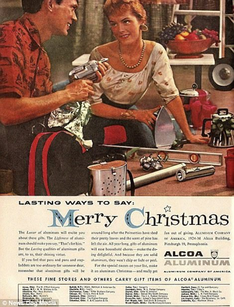 When all women wanted for Christmas was a Hoover, and men were after some Pipe Appeal: Cringeworthy adverts show life in the days before political correctness   47894B6200000578-5208475-image-m-86_1514044495616