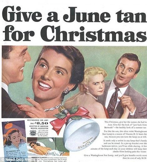 When all women wanted for Christmas was a Hoover, and men were after some Pipe Appeal: Cringeworthy adverts show life in the days before political correctness   47894B7E00000578-5208475-image-m-77_1514044210007