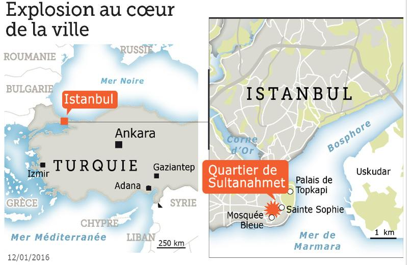 Attentats Ankara Turquie Situ