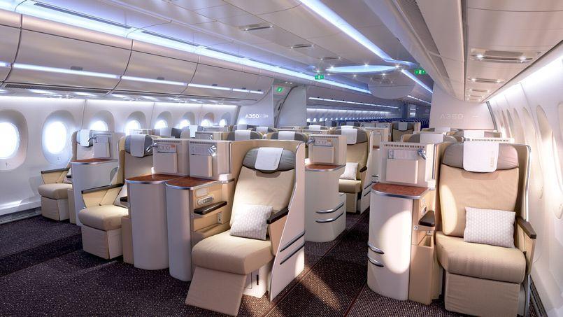 Airbus A350 ( avion a reacción de fuselaje ancho Unión Europea ) PHO697702be-be3d-11e3-b835-7d1bfa5c0865-805x453