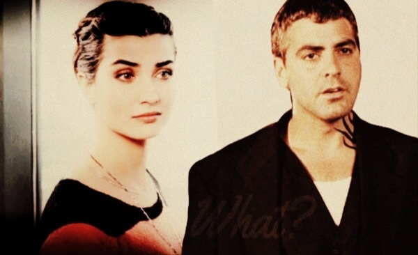 George Clooney and Tuba Buyukustun Photoshopped Pictures LY2Brl