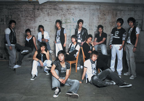 Super Junior U Photoshoot VP3X1v