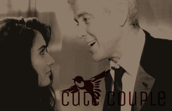 George Clooney and Tuba Buyukustun Photoshopped Pictures WMOOB7
