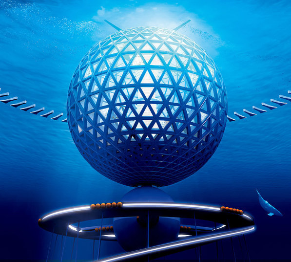 Japanese Reveal Design For First Underwater City. This Is Breathtaking. Slide_394232_4822540_free