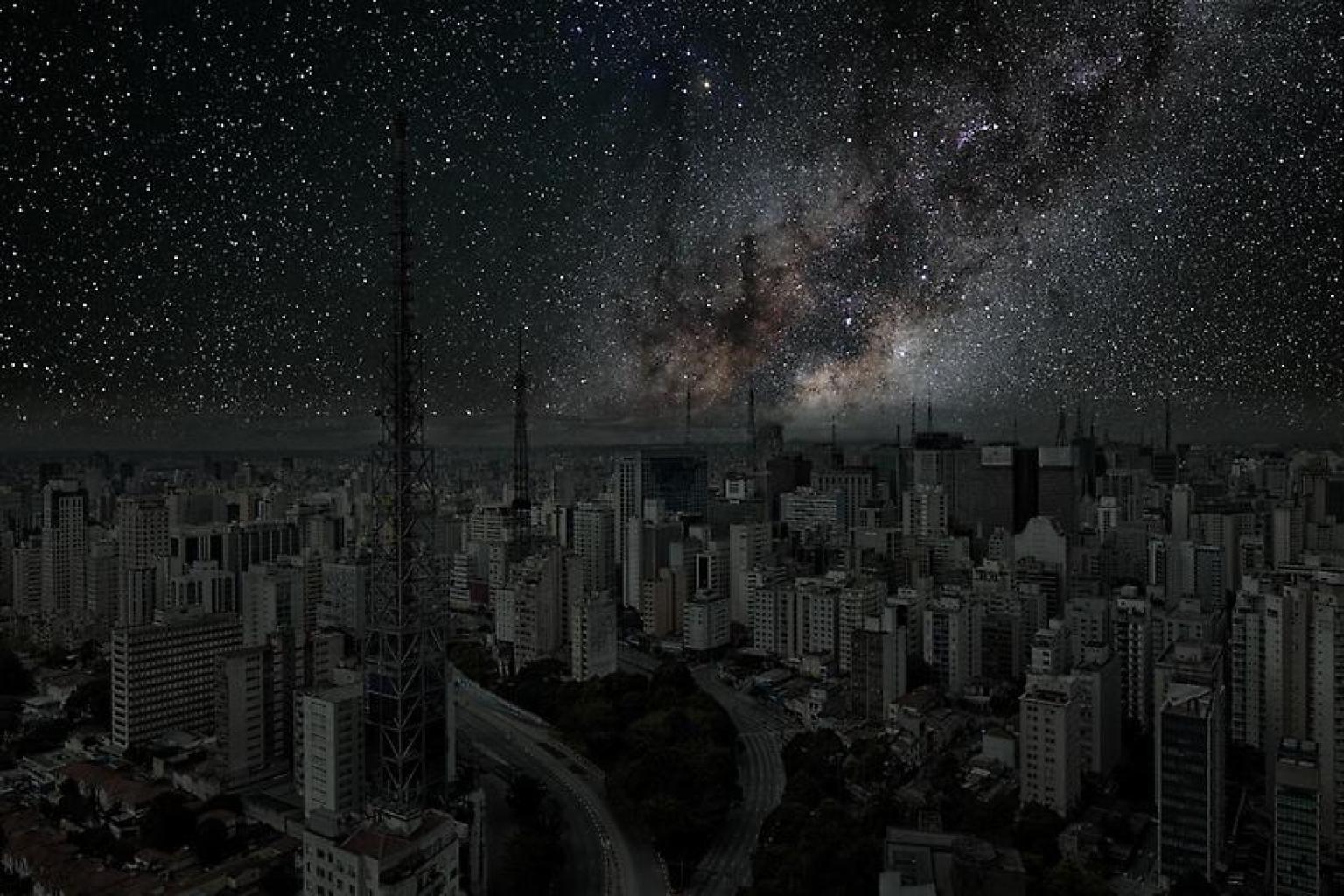 Las ciudades del mundo sin contaminación lumínica O-THIERRY-COHEN-facebook