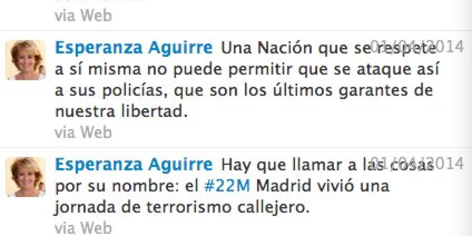 """Breaking news: """"Esperanza Aguirre arrolla la moto de un agente y se da a la fuga"""".. - Página 2 O-ESPERANZA-AGUIRRE-facebook"""