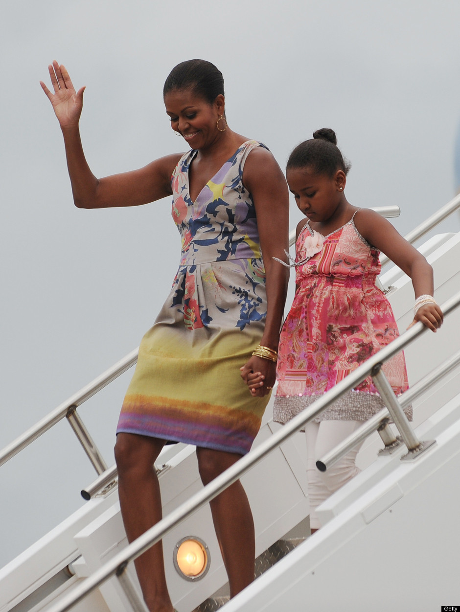 Michelle Obama - the first African-American 'First Lady' in the US MICHELLE-OBAMA