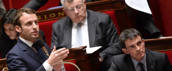 Gouvernement Valls 2 ça va valser ! Macron ne vous offrira pas de macarons...:) N-LOI-MACRON-large570