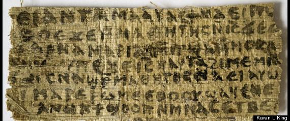 Thuban Fleet Disclosures R-JESUS-WIFE-PAPYRUS-large570
