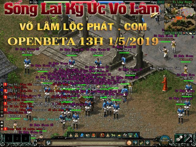 Võ Lâm Lộc Phát - Auto InGame VIP - CTC Trùng Sinh tặng CODE OpenBeta 13h 1/5/2019 đông vui ổn định Locphat1