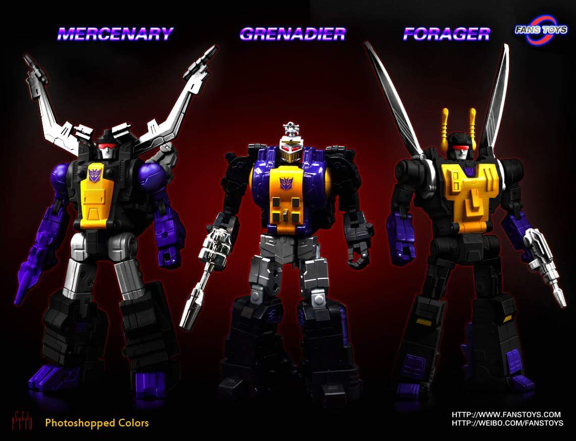 [Fanstoys] Produit Tiers - Jouet FT-12 Grenadier / FT-13 Mercenary / FT-14 Forager - aka Insecticons - Page 2 2sghnUBi