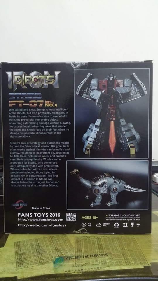 [Fanstoys] Produit Tiers - Dinobots - FT-04 Scoria, FT-05 Soar, FT-06 Sever, FT-07 Stomp, FT-08 Grinder - Page 9 2wUx6DKw