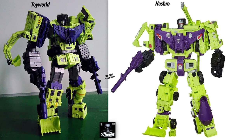 [Toyworld] Produit Tiers - Jouet TW-C Constructor aka Devastator/Dévastateur (Version vert G1 et jaune G2) - Page 4 3LzA9eLf