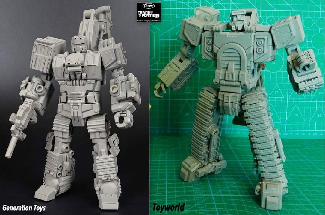 [Toyworld] Produit Tiers - Jouet TW-C Constructor aka Devastator/Dévastateur (Version vert G1 et jaune G2) 4tzV4woA