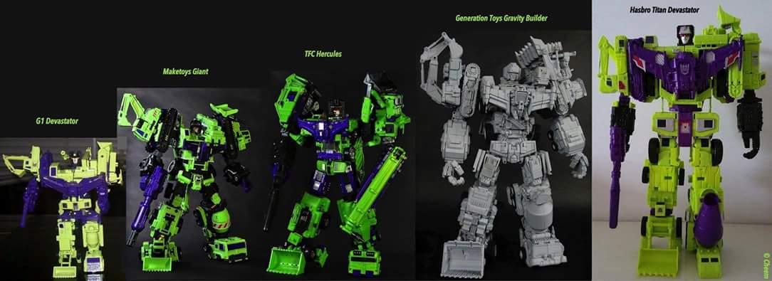 [Combiners Tiers] GENERATION-TOY GRAVITY BUILDER aka DEVASTATOR - Sortie 2015-2016 71qpoZtL