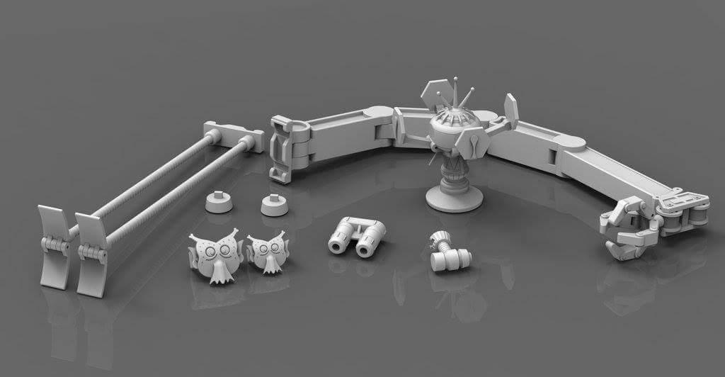 [X-Transbots] Produit Tiers - Jouet MX-X Paean - aka Hoist/Treuil 91Bg6ac0