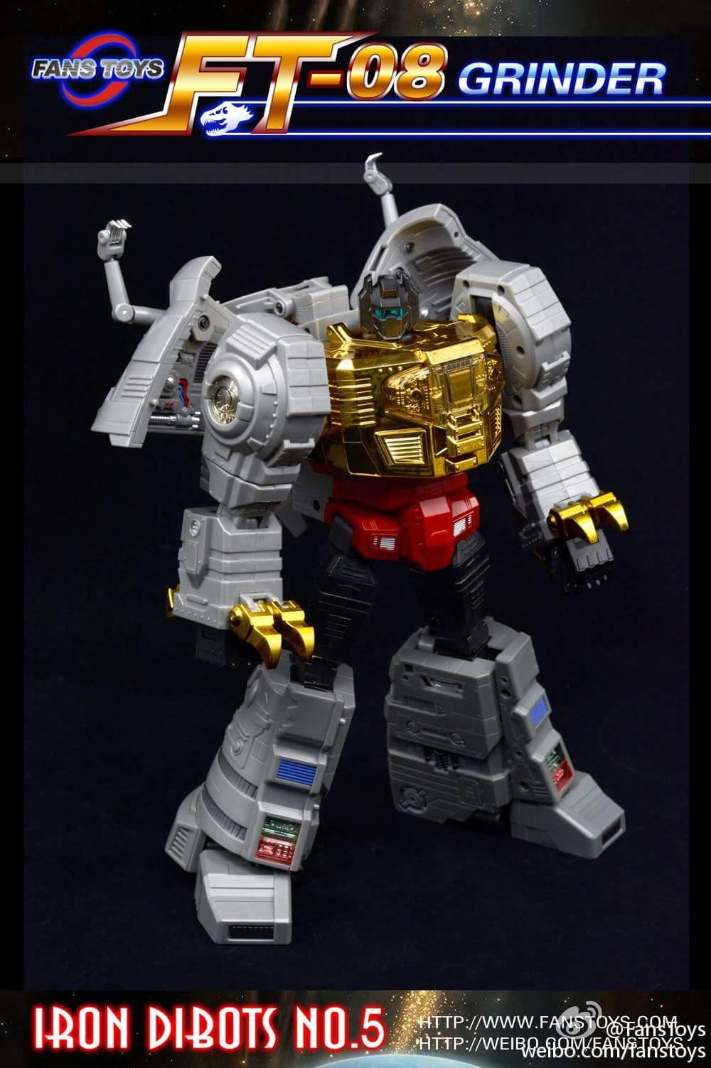 [Fanstoys] Produit Tiers - Dinobots - FT-04 Scoria, FT-05 Soar, FT-06 Sever, FT-07 Stomp, FT-08 Grinder - Page 9 9Rv8QYm5