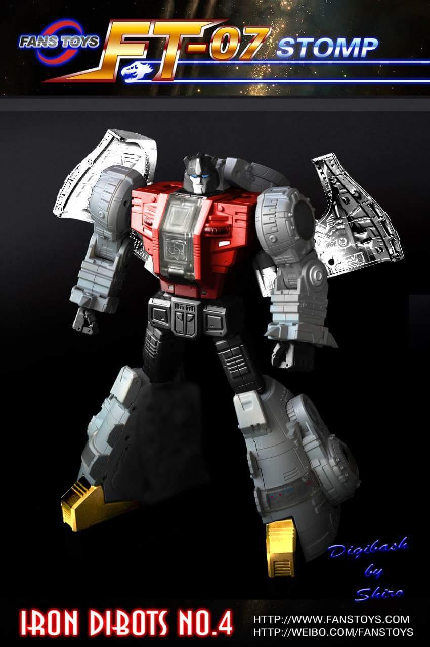 [Fanstoys] Produit Tiers - Dinobots - FT-04 Scoria, FT-05 Soar, FT-06 Sever, FT-07 Stomp, FT-08 Grinder - Page 5 A75aodH6