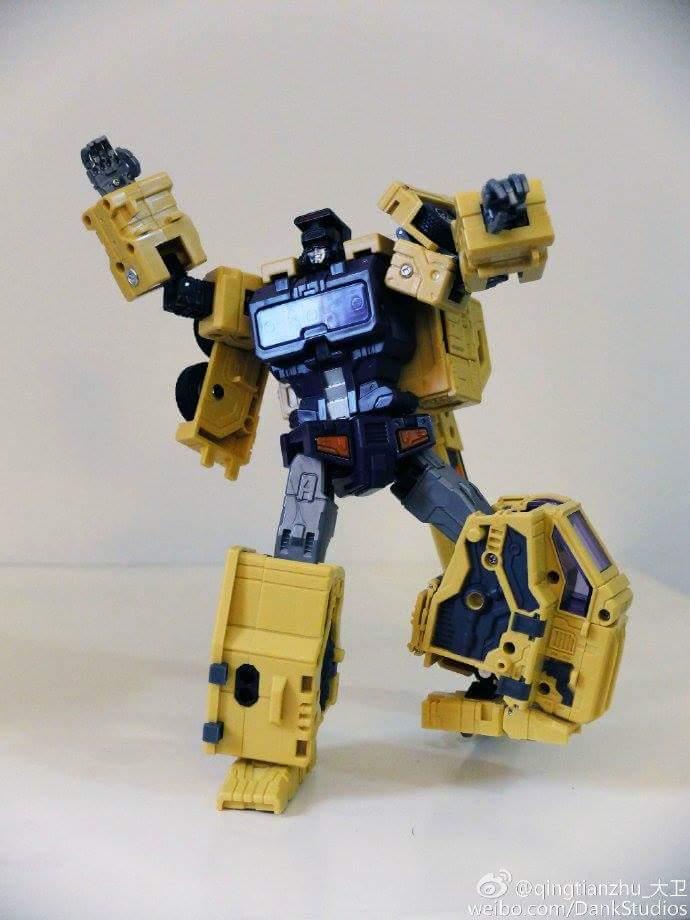 [Toyworld] Produit Tiers - Jouet TW-C Constructor aka Devastator/Dévastateur (Version vert G1 et jaune G2) - Page 8 BHjujie5