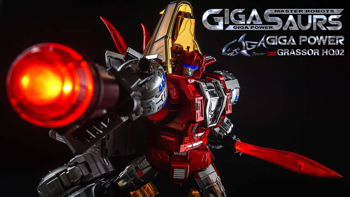 [GigaPower] Produit Tiers - Jouets HQ-01 Superator + HQ-02 Grassor + HQ-03 Guttur + HQ-04 Graviter + HQ-05 Gaudenter - aka Dinobots - Page 4 CKByW7mh