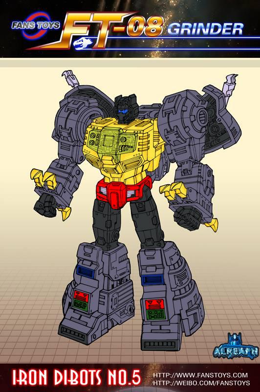 [Fanstoys] Produit Tiers - Dinobots - FT-04 Scoria, FT-05 Soar, FT-06 Sever, FT-07 Stomp, FT-08 Grinder - Page 6 EX2kiN2n