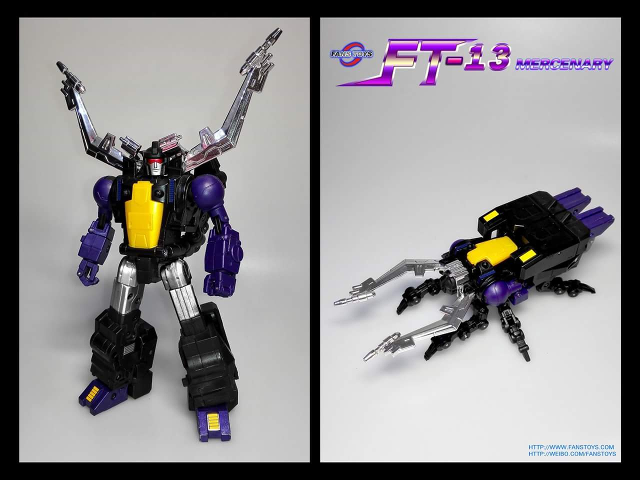 [Fanstoys] Produit Tiers - Jouet FT-12 Grenadier / FT-13 Mercenary / FT-14 Forager - aka Insecticons - Page 2 Ermp46DI