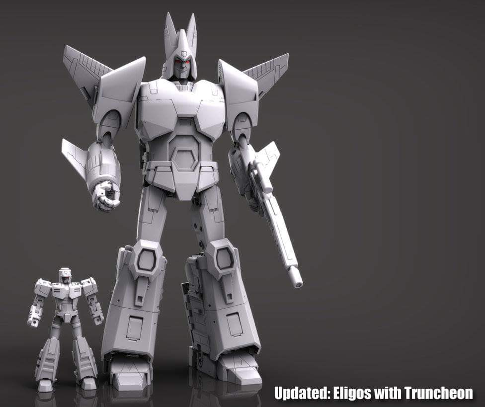 [X-Transbots] Produit Tiers - MX-III Eligos - aka Cyclonus GV75LyeF