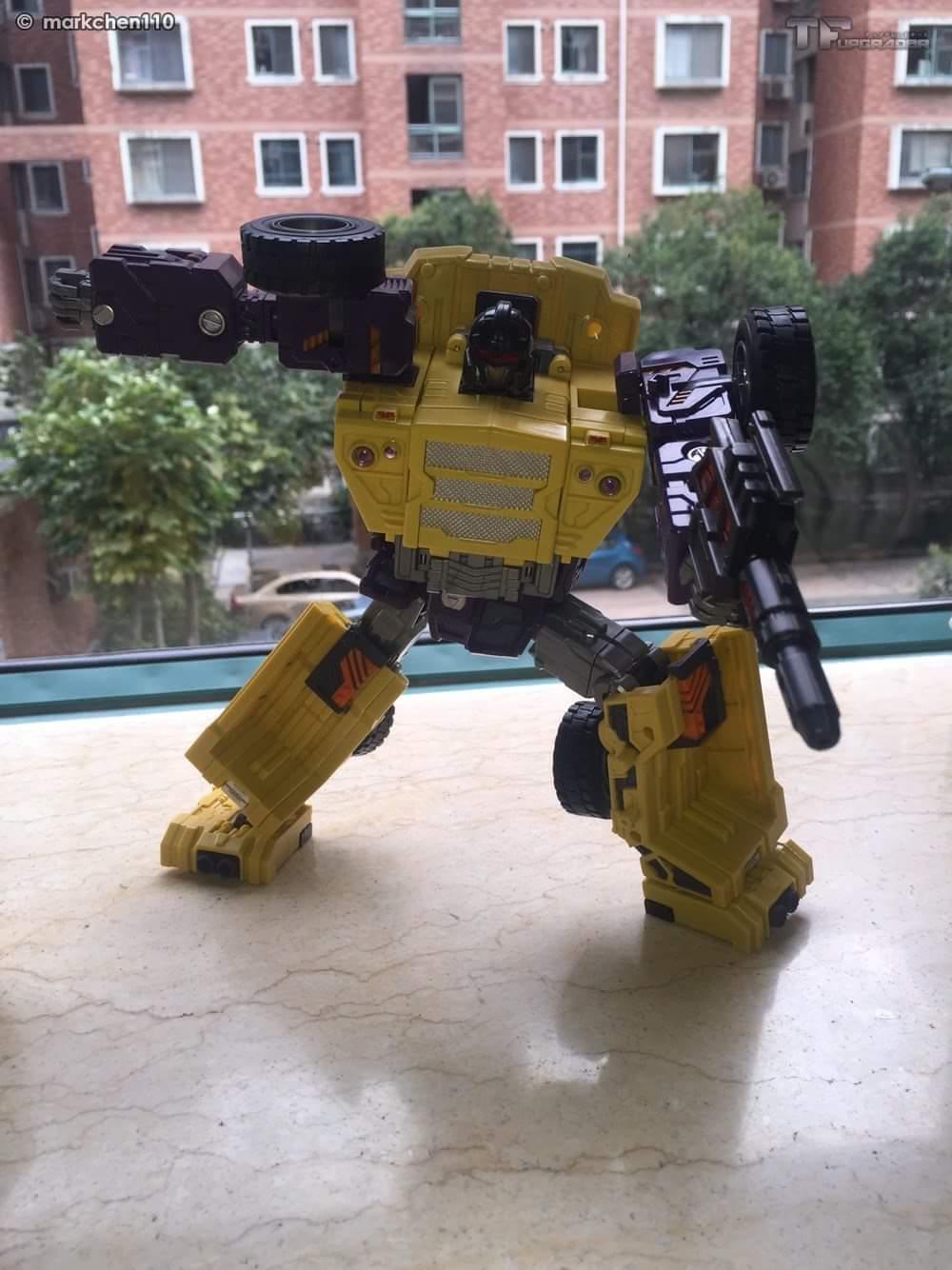 [Toyworld] Produit Tiers - Jouet TW-C Constructor aka Devastator/Dévastateur (Version vert G1 et jaune G2) - Page 8 HjDl3rMt