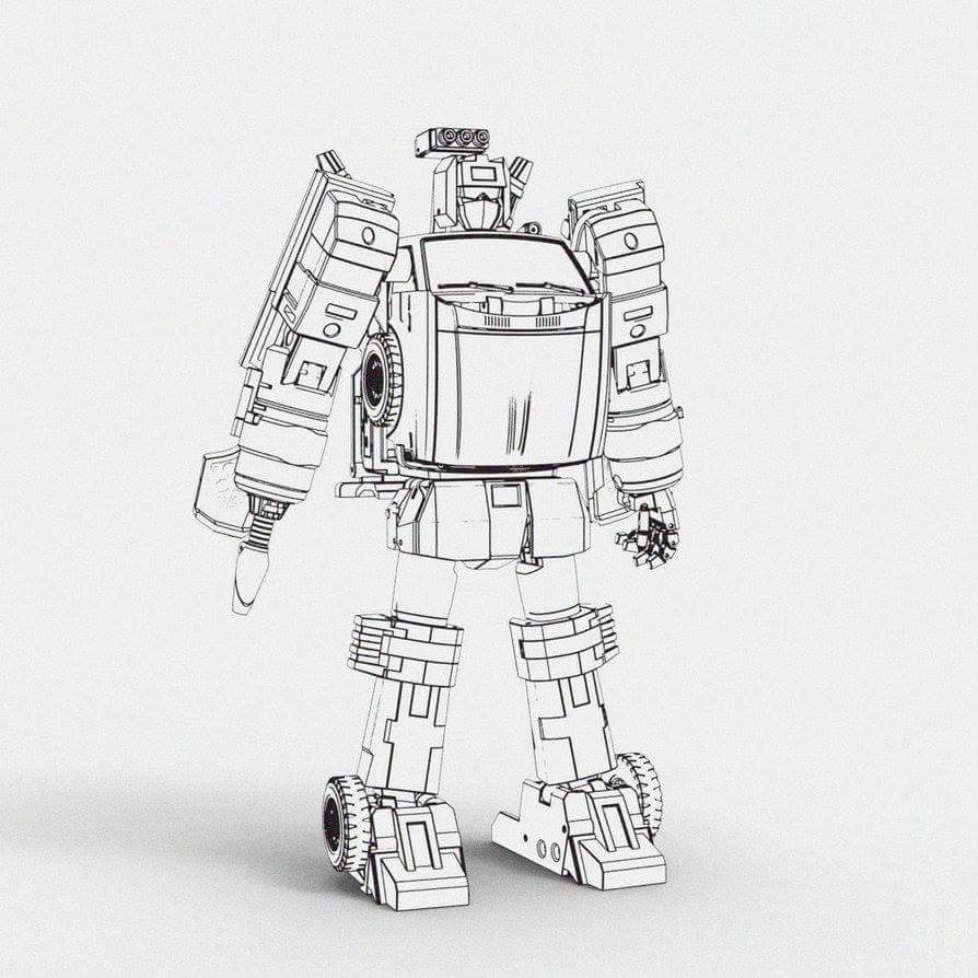 [X-Transbots] Produit Tiers - Jouet MX-X Paean - aka Hoist/Treuil IZxP1BoV