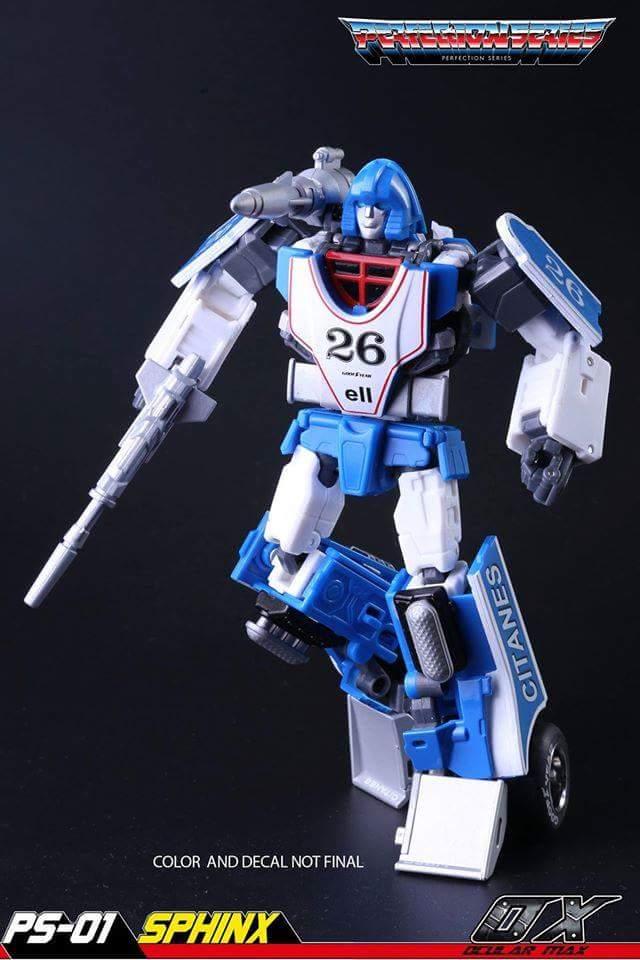 [Ocular Max] Produit Tiers - PS-01 Sphinx (aka Mirage G1) + PS-02 Liger (aka Mirage Diaclone) JarfKaxf
