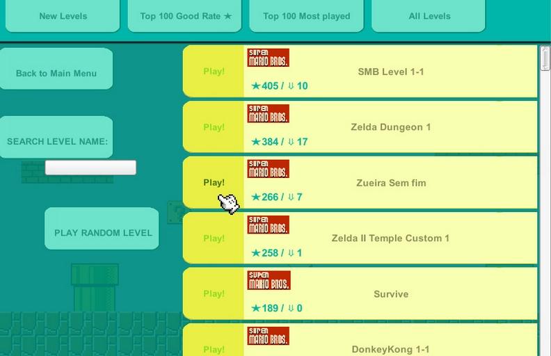 """Mairo Maker PC"", la alternativa gratis al Super Mario Maker de Wii U LZRiM753"
