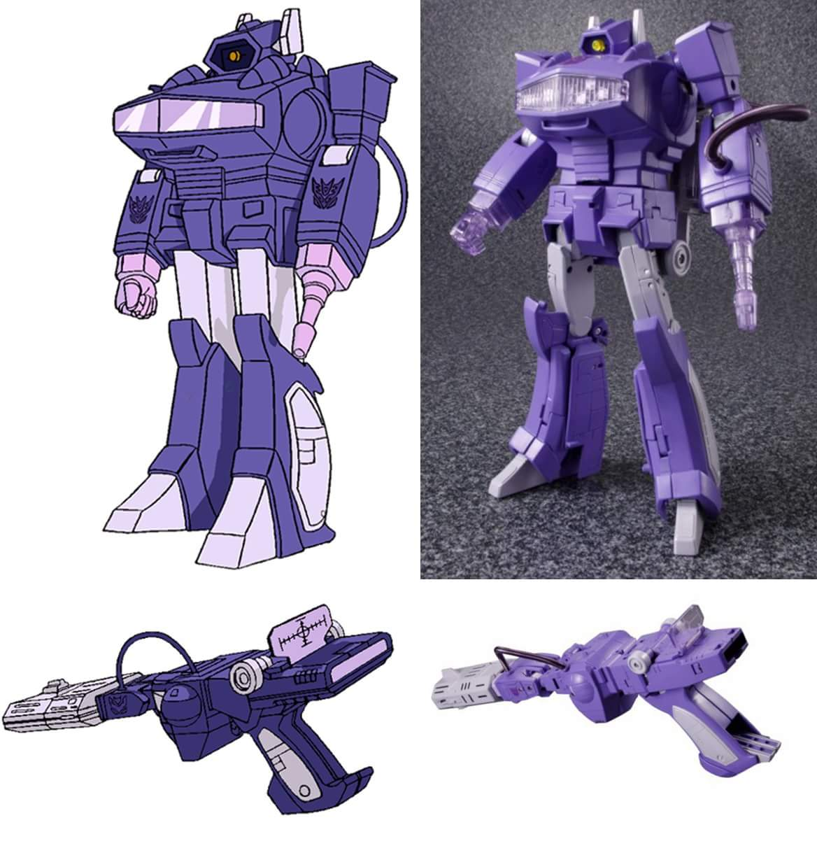 [Masterpiece] MP-29 Shockwave/Onde de Choc LkatekNz