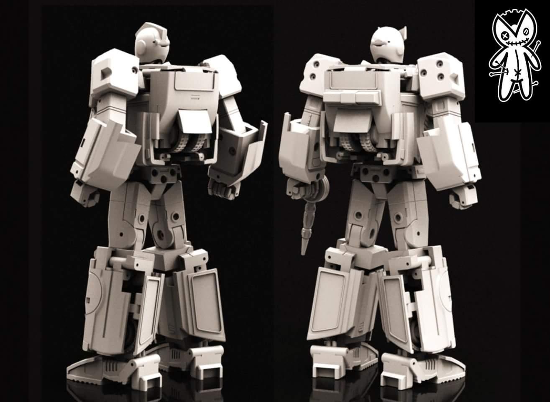 [Voodoo Robots] Produit Tiers - Salus (aka Ratchet/Mécano) & Animus (aka Ironhide/Rhino) Npi5VDVL