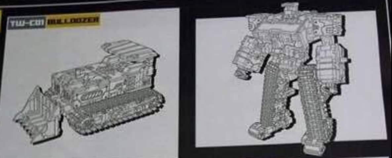 [Toyworld] Produit Tiers - Jouet TW-C Constructor aka Devastator/Dévastateur (Version vert G1 et jaune G2) NwWIhMjZ