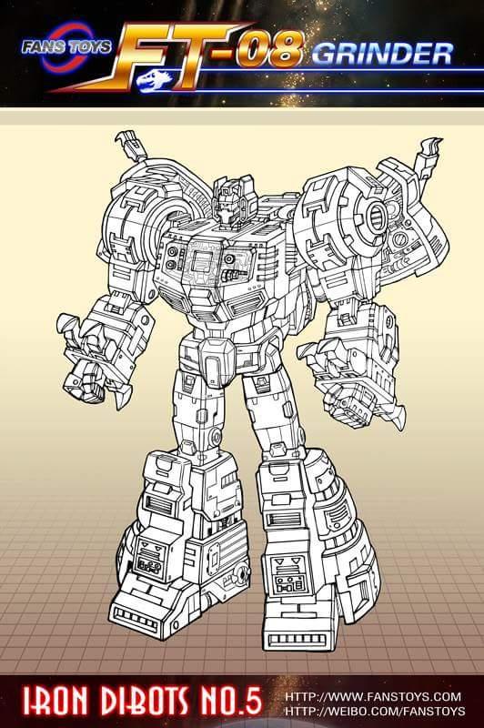 [Fanstoys] Produit Tiers - Dinobots - FT-04 Scoria, FT-05 Soar, FT-06 Sever, FT-07 Stomp, FT-08 Grinder - Page 6 QFybExhp
