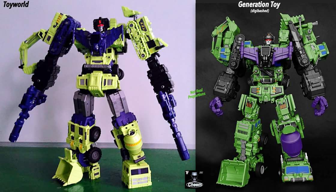 [Toyworld] Produit Tiers - Jouet TW-C Constructor aka Devastator/Dévastateur (Version vert G1 et jaune G2) - Page 4 SjVvUev9