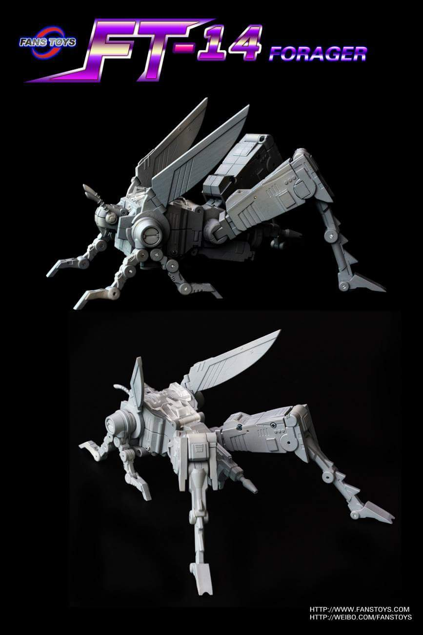[Fanstoys] Produit Tiers - Jouet FT-12 Grenadier / FT-13 Mercenary / FT-14 Forager - aka Insecticons TOfNyqrh