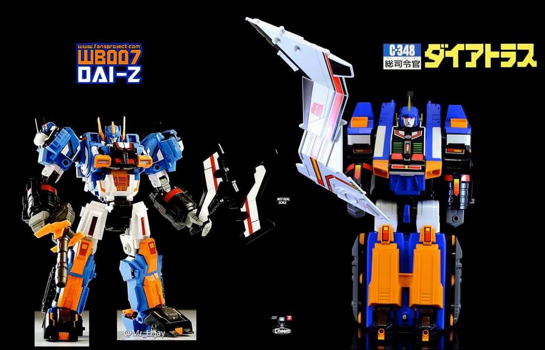 [Fansproject] Produit Tiers - Jouet WB-007 Dai-Z - aka Dai Atlas (Transformers Zone) TbE4dj4S