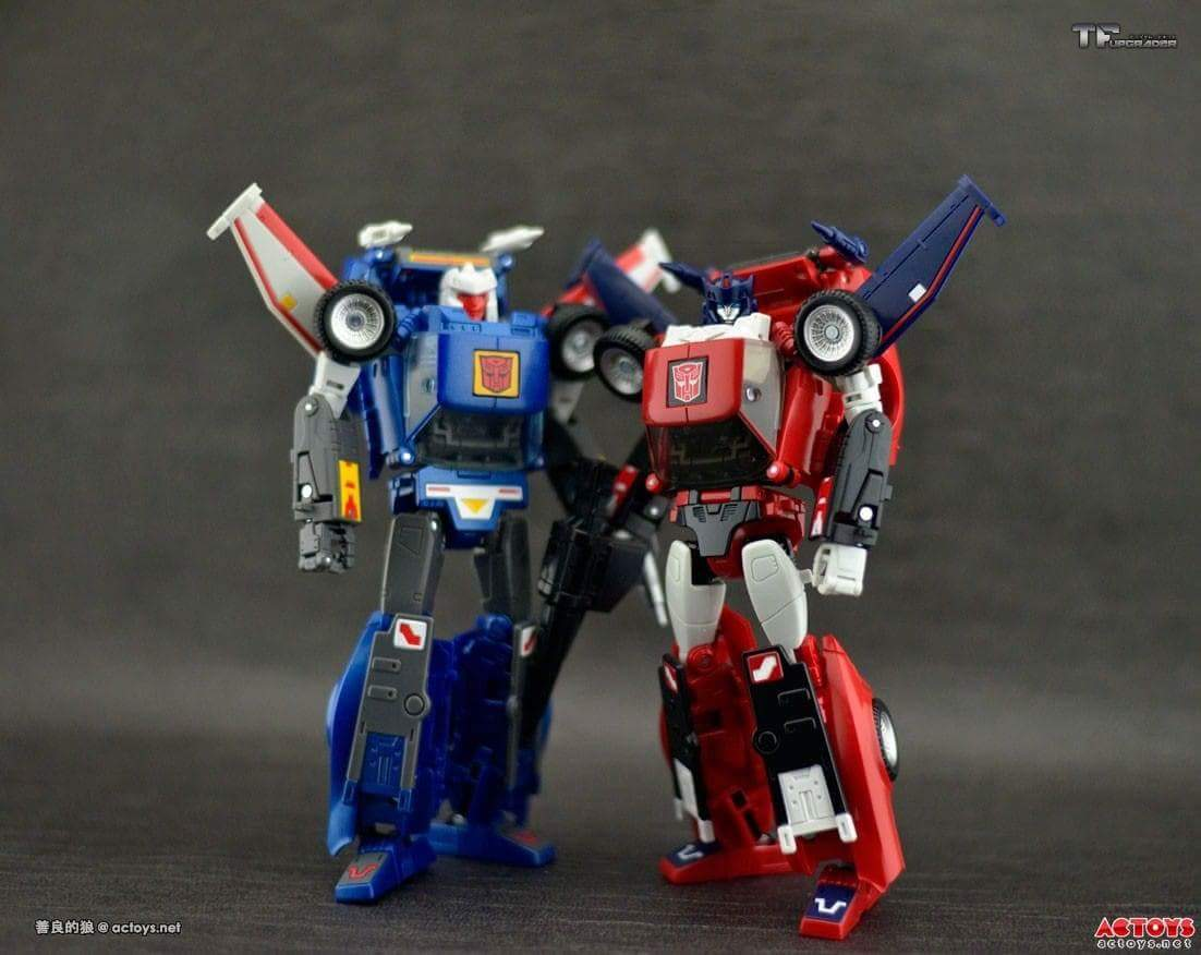[Masterpiece] MP-25L LoudPedal (Noir) + MP-26 Road Rage (Rouge) ― aka Tracks/Le Sillage Diaclone - Page 2 V3unakfp