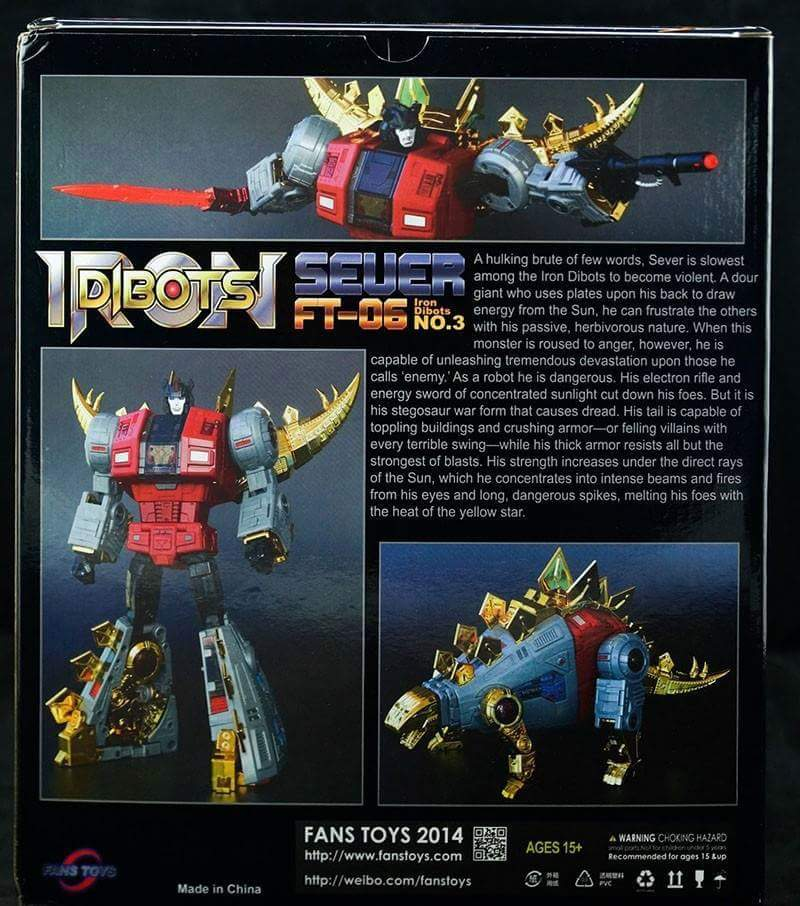 [Fanstoys] Produit Tiers - Dinobots - FT-04 Scoria, FT-05 Soar, FT-06 Sever, FT-07 Stomp, FT-08 Grinder - Page 6 Vo0PsoId