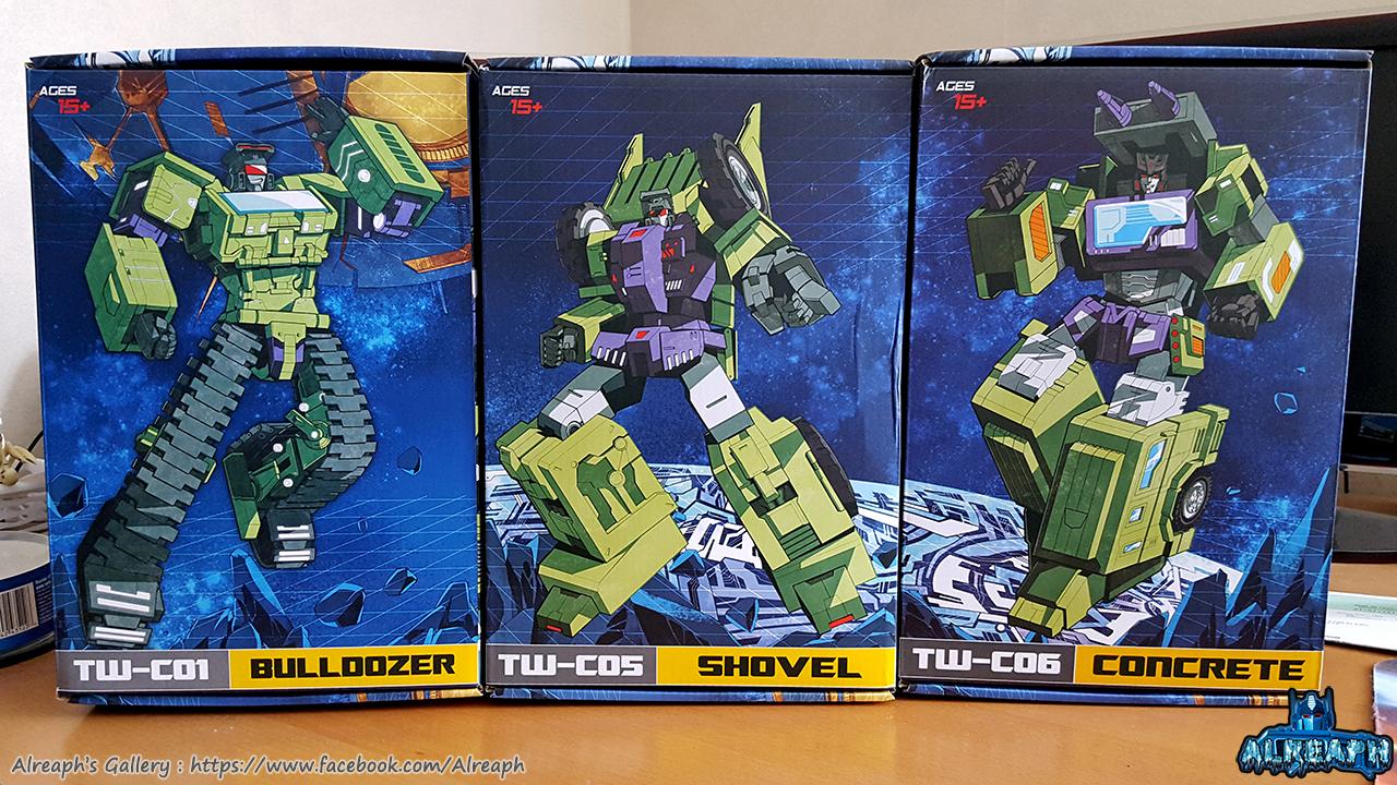 [Toyworld] Produit Tiers - Jouet TW-C Constructor aka Devastator/Dévastateur (Version vert G1 et jaune G2) - Page 6 Wxy9yIfE