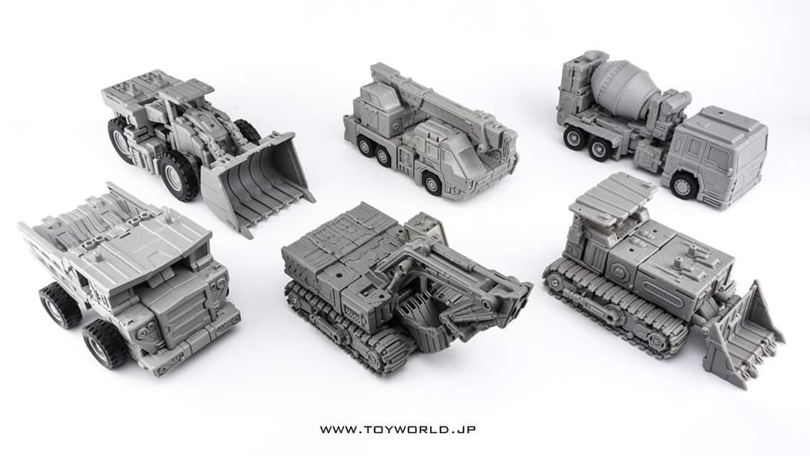 [Toyworld] Produit Tiers - Jouet TW-C Constructor aka Devastator/Dévastateur (Version vert G1 et jaune G2) - Page 2 A1VZmcLM