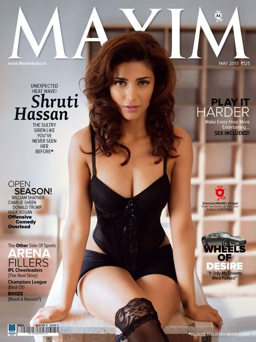 Shruti Haasan on Maxim Magazine Abc0DxTq