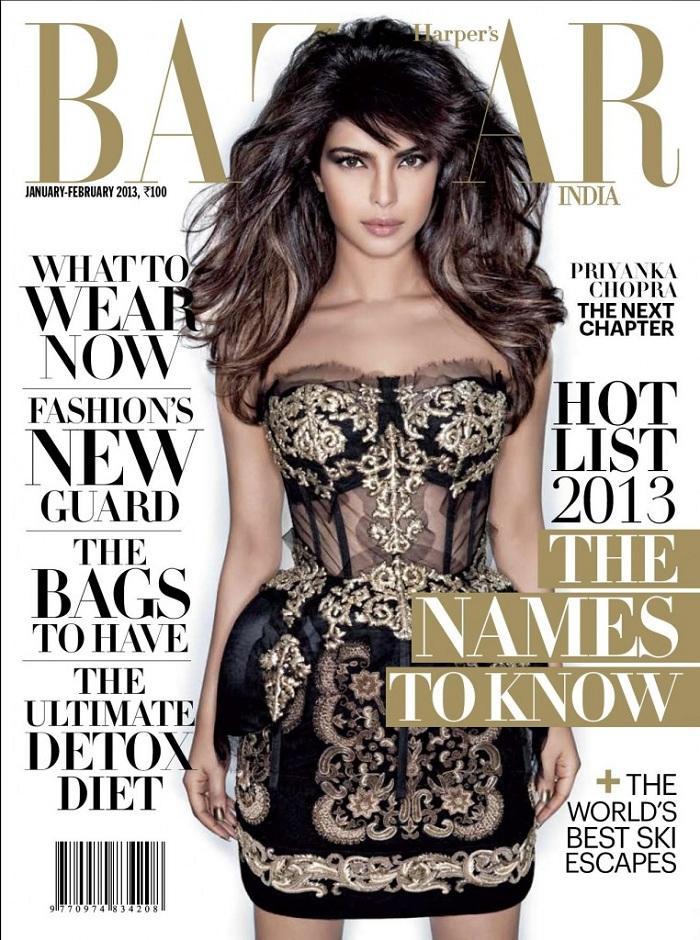 Priyanka Chopra rock star looks on Harper's Bazaar latest is Abd9KTo7